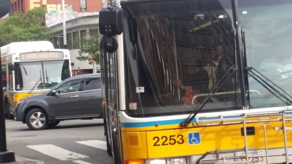 Mbta bus driver