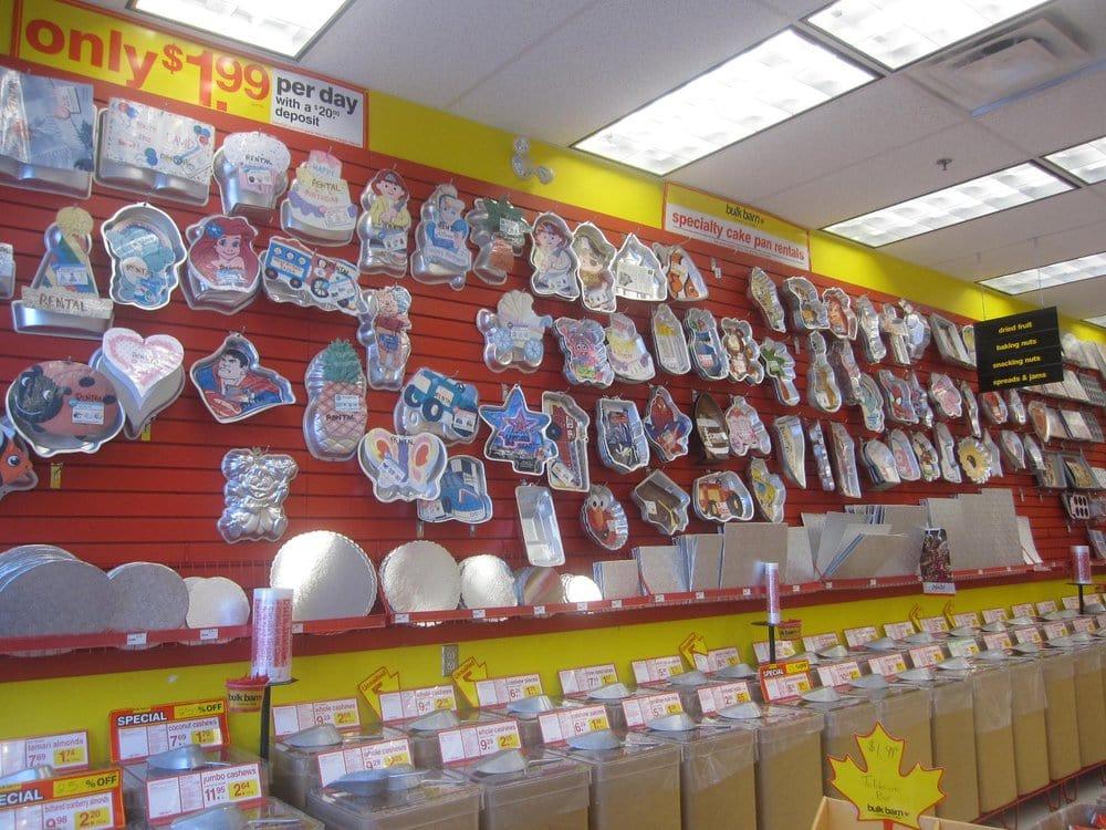 Wall Of Cake Pans Yelp