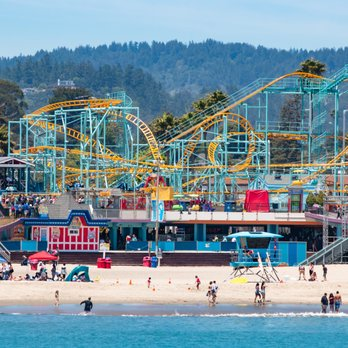 Santa Cruz Beach Boardwalk On The