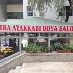 Lostra Ayakkabi Boya Salonu Shoe Repair Selanik Cad Ankara