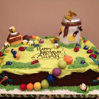 Awe Inspiring Bug Birthday Cake Yelp Funny Birthday Cards Online Overcheapnameinfo