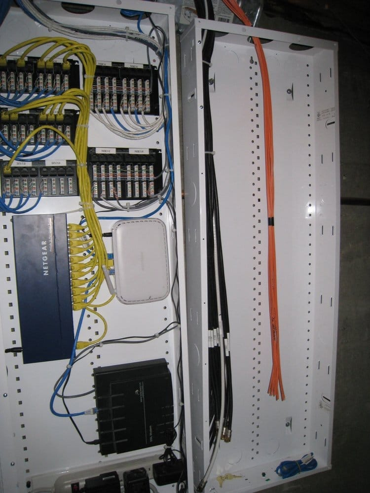 Whole House Wiring Panels Are Neat And Labeled All Wiring