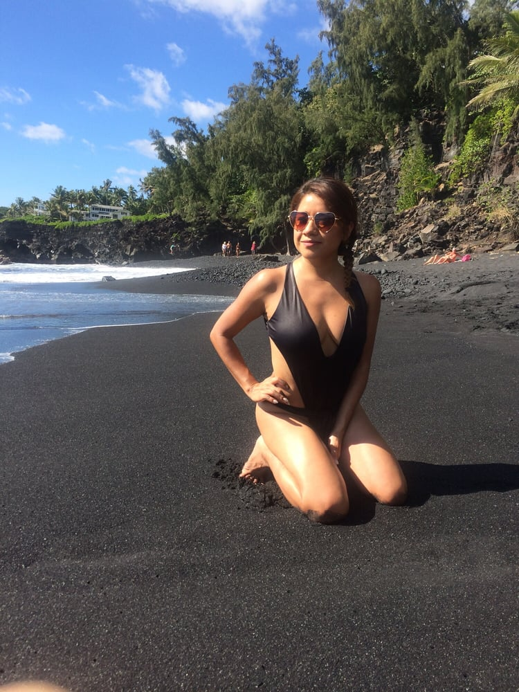 Nude beach hairy Women proudly