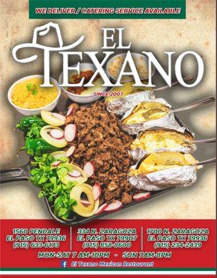El Texano Mexican Restaurant 334 N