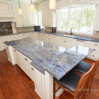 Blue Bahia Granite Countertops