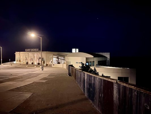 Photo of Lands End - San Francisco, CA, US. 10.31.20 Cliff House by night
