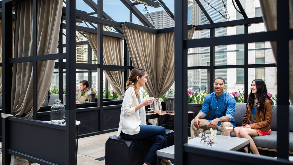 Raised An Urban Rooftop Bar Order Food Online 482 Photos 289 Reviews Bars The Loop Chicago Il United States Phone Number Menu Yelp