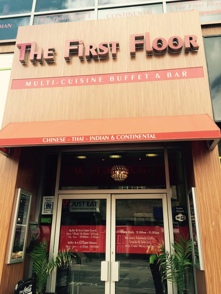 The First Floor Asian Fusion 158 Cowley Road Oxford