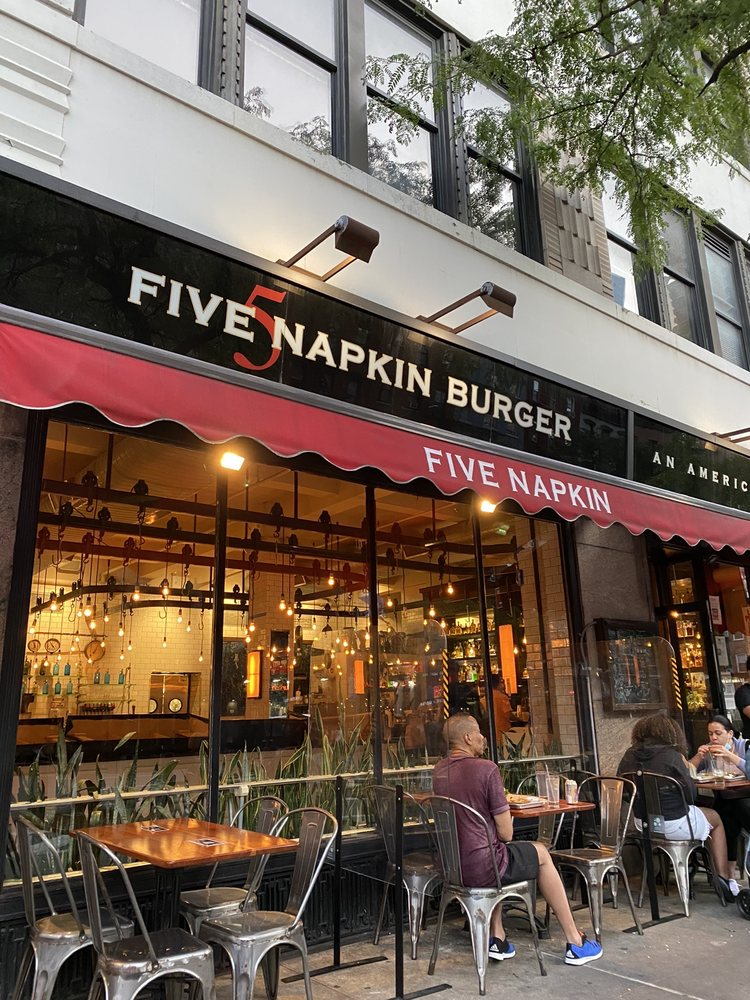 5 Napkin Burger Hell S Kitchen Updated Covid 19 Hours Services 1196 Photos 2085 Reviews Burgers 630 9th Ave Midtown West New York Ny Restaurant Reviews Phone Number Yelp