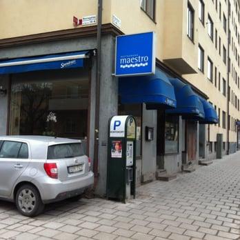 maestro grekisk restaurang södermalm stockholm