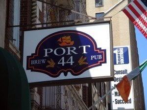 Photo of Port 44 Brew Pub - Newark, NJ, United States. There you go. That's the sign.