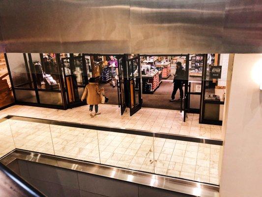 Photo of Burlington Coat Factory - New York, NY, US. Escalator to the top