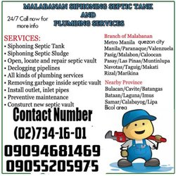 24/7 Malabanan Siphoning Pozo Negro And Declogging Services