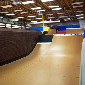 super bouncy, blue floor at KTR Mesa