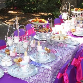Peachy Tea Party Princess Theme Birthday Party Table Set Up Caraccident5 Cool Chair Designs And Ideas Caraccident5Info