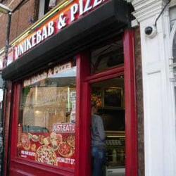 Uni Kebab Pizza Kebab 69 Garden Lane Chester