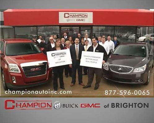 Champion Gmc Buick Of Brighton 7885 Grand River Brighton Mi Buick