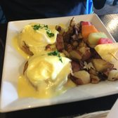 Photo of Café On Primrose - Burlingame, CA, United States. Eggs Benedict