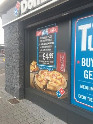 Dominos Pizza Pizza 111 Armagh Road Portadown