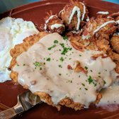 Photo of Hatch Early Mood Food - Oklahoma City, OK, United States. Chicken Fried Steak