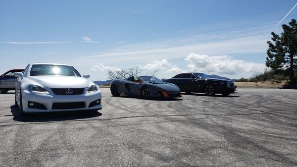 Photo of Angeles Crest Highway - La Canada, CA, US. Trying to fit in ;)