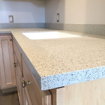 Solid Surface Kitchen Countertop with a 1/8\