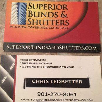 Superior Blinds And Shutters Shutters Southaven Ms Phone Number Yelp