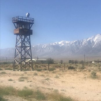Photo of Manzanar National Historic Site - Independence, CA, United States. The guard tower.