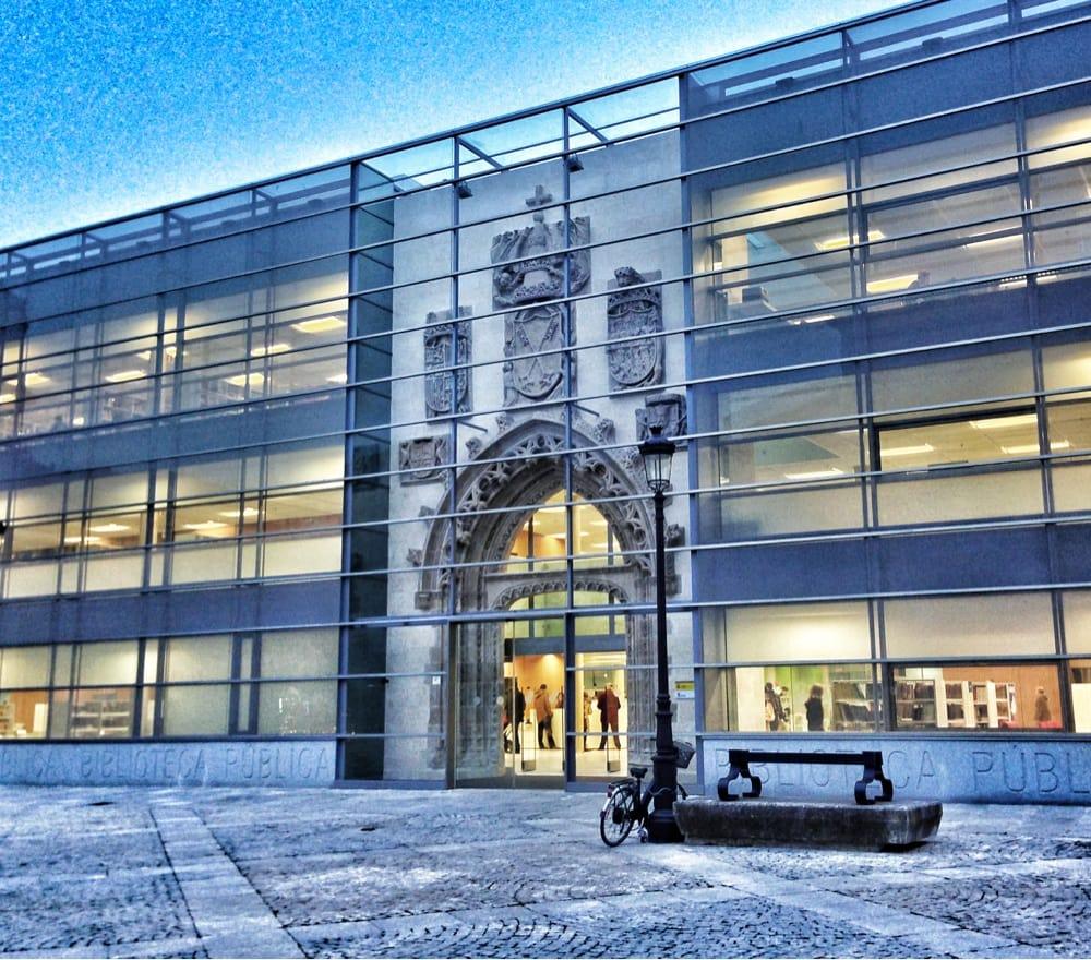 Biblioteca Publica de Burgos - Bibliotecas - Plaza San Juan, s/n ...