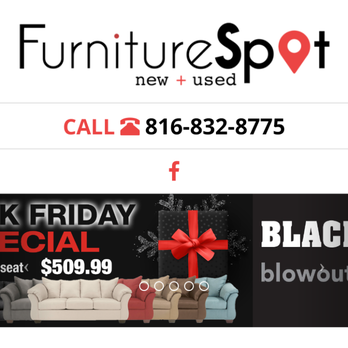 Furniture Spot Furniture Stores 7932 N Oak Trafficway Kansas City Mo Phone Number Yelp