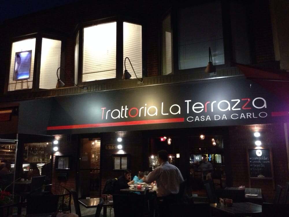 Trattoria La Terrazza Casa Da Carlo Italian 575 Avenue