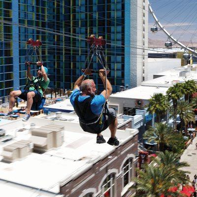 Fly Linq Zipline Las Vegas 120 Photos 107 Reviews Ziplining 3545 S Las Vegas Blvd Las Vegas Nv Phone Number