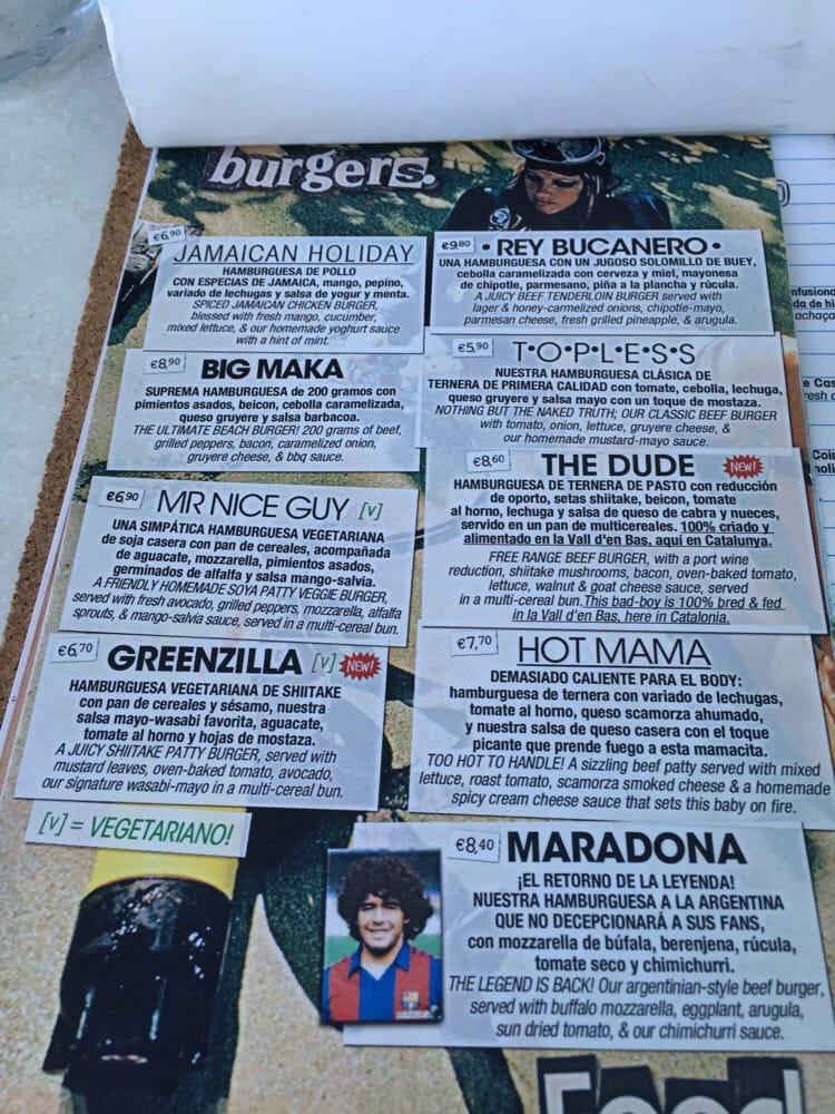 Makamaka 223 Photos 79 Reviews Burgers Passeig De