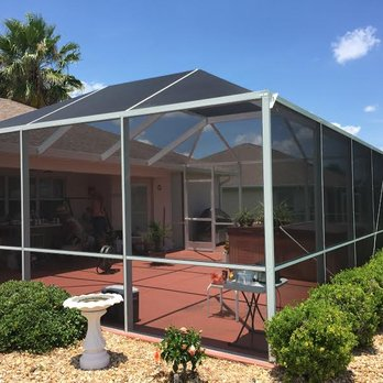 Florida Bird Cage Style Screen Enclosure Yelp