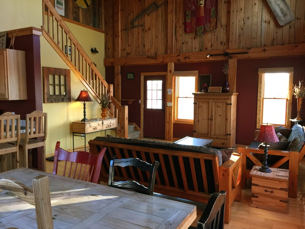 The Barn Cottage 22 Photos Vacation Rentals 2600 Herring Rd Arcadia Mi Phone Number Yelp