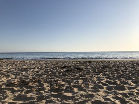 Photo of Arroyo Burro Beach - Santa Barbara, CA, US. About an hour and a half before sunset