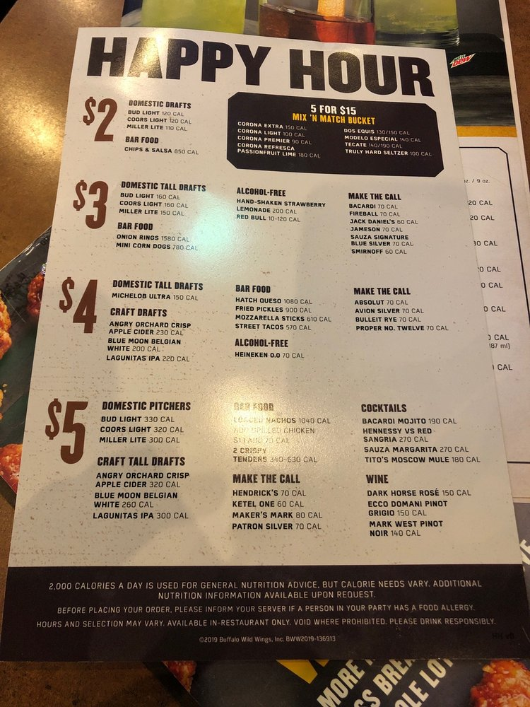 Buffalo Wild Wings Updated Covid 19 Hours Services 101 Photos 239 Reviews Chicken Wings 1599 Us Highway 22 Watchung Nj Restaurant Reviews Phone Number Menu Yelp