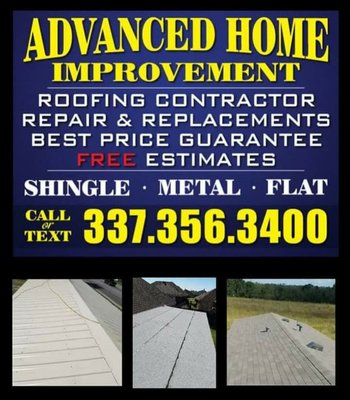 Advanced Home Improvement 258 Malapart Rd Lafayette La Roofing Mapquest