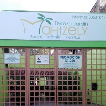 Terraza Jardín Mahtzely Venues Event Spaces Avenida