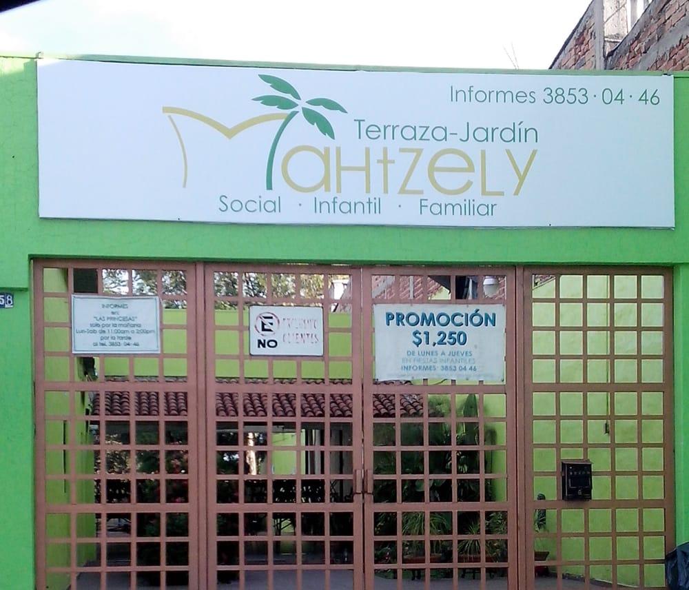 Terraza Jardín Mahtzely Locales Para Eventos Avenida