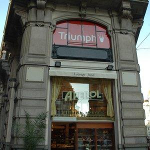 Bar Aperol Cafes Piazza Cordusio Centro Storico Milano