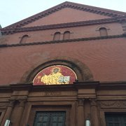 Photo of Cathedral of St. Matthew the Apostle - Washington, DC, United States. The entrance to the Cathedral