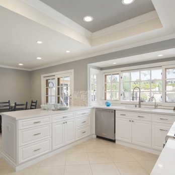 Kitchen Lighting Remodel With Energy Efficient Led Recessed
