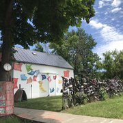 Photo of Heidelberg Project - Detroit, MI, United States. Shoe wall & number house