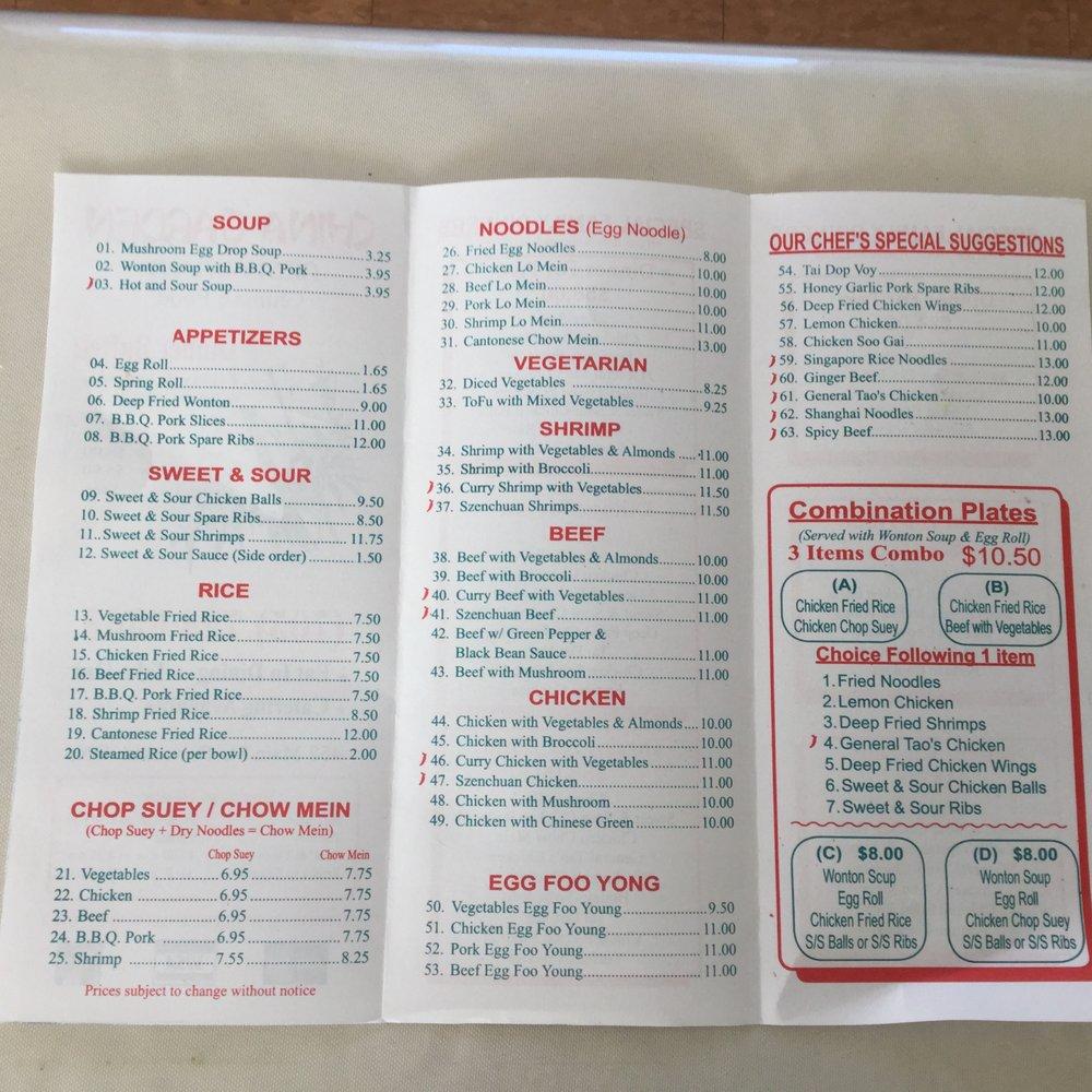 China Garden Restaraunt Chinese 458 Main Street Powassan On Restaurant Reviews Phone Number Yelp