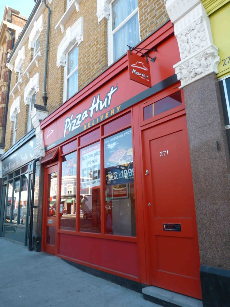 Pizza Hut Pizza 271 High Road Leyton Leyton London