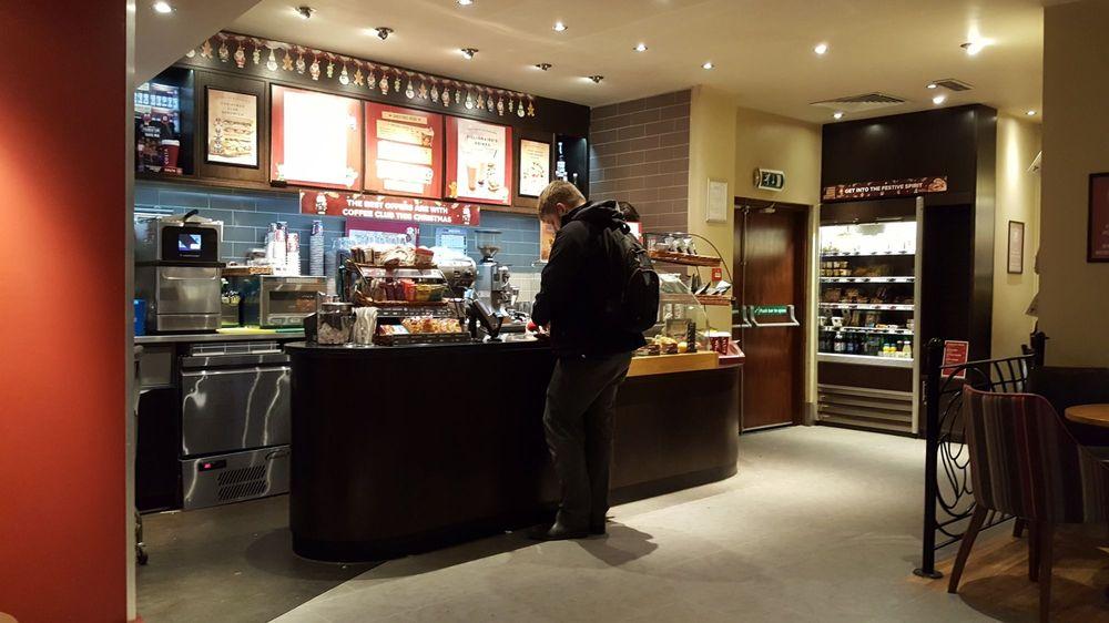 Costa Coffee At Premier Inn Cafes 337 Argyle Street