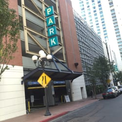 Photo of Ace Parking - 6th & K Parkade - San Diego, CA, US. Entrance on Sixth St between K & L St.