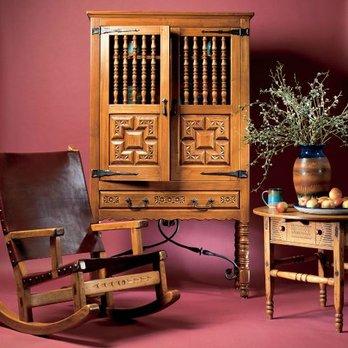 Southwest Spanish Craftsmen Furniture, Used Ernest Thompson Furniture