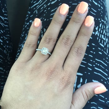 Simple ombré acrylic nails by Hoai - Yelp